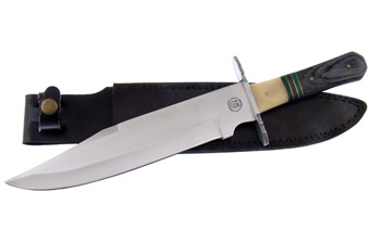 "CW-348 TENNESSEE TOOTHPICK BOWIE 14.5"" [Chipaway Cutlery]"