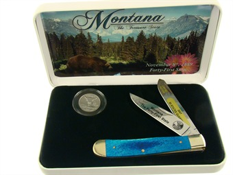 "SET-312MT MONTANA STATE QTR. 4 1/4"" [Frost Cutlery]"