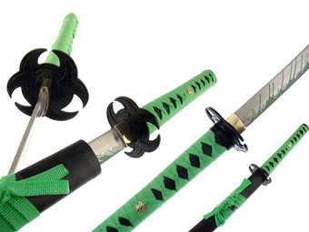 "SK9041-405CA 40.5"" LIME GREEN ZOMBIE KATANA [Frost Cutlery]"