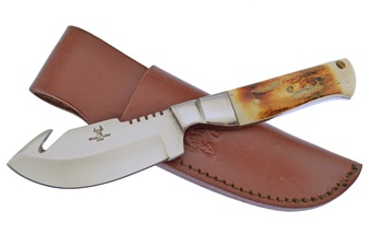 "WT-808SC 7.5"" SECOND CUT BN SKINNER W/SH [Whitetail Cutlery]"