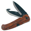 "16-181PW 5"" PAKKAWOOD FLDR [Frost Cutlery • Pocket Knives • Sportsman ]"