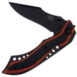 "18-343RPW FOLDER BLK BLD RED PAKAWD 4.5"" [Frost Cutlery • Tacticals & Folders • Lightweight]"