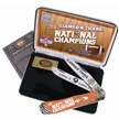 CU16-CATCU/O CASE CLEMSON CHAMP.ORG.SLNT.TRPR [Case • Collectors' Items • Commemorative Sets]