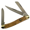 "ECS-509ZW 3.5"" ECS ZEBRA WOOD STOCKMAN [E.C. Simmons • Pocket Knives]"