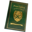 FC-BOOK/HB FROST CUTLERY BOOK (HARDBACK) [Frost Cutlery • Collectors' Items • Jim Frost Signature]