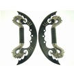 H-7035BK DOUBLE DRAGON DISPLAY [Frost Cutlery • Fantasy • Twin Daggers]