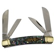 "HSB-118IAB HBS CONGRESS IMI.ABALONE 3 1/2"" [Hibbard Spencer-Bartlett • Pocket Knives]"