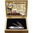 MNP-812WSBBX MOONPIE TRPR WHITE SB W/WOOD BOX [Moon Pie • Pocket Knives]