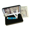 SET-BABE BABE RUTH COIN AND TRPR SET [Frost Cutlery • Collectors' Items • Coin Sets]