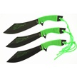 "TA-049 FLAME 3PC THROWER SET 7.5"" [Tac Assult • Fixed Blades • Throwing Knives]"