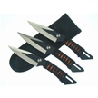 "TK269-3BK NINJA THROWERS        6 1/2"" [Frost Cutlery • Fixed Blades • Throwing Knives]"
