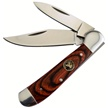 "WT-106PW 3.25"" PAKKAWOOD COPPERHEAD [Whitetail Cutlery • Pocket Knives]"